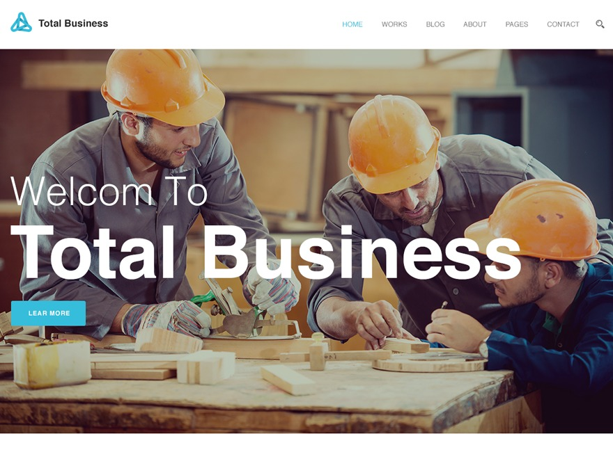 TotalBusiness WordPress template for business