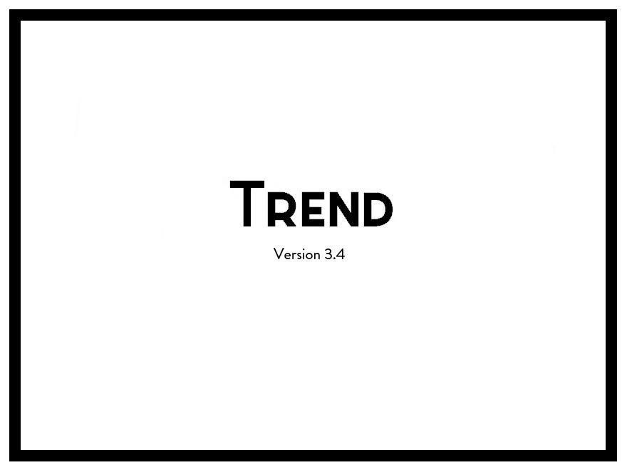 Trend WordPress website template
