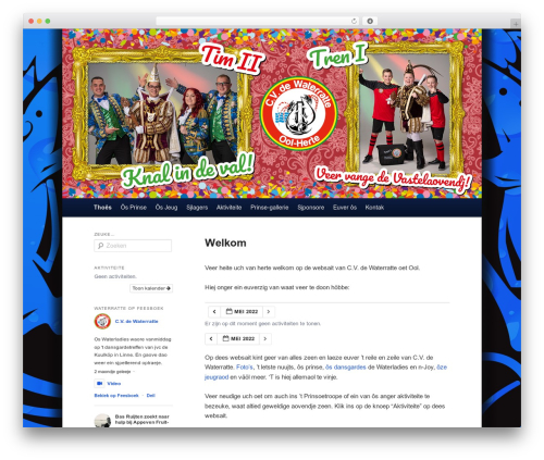 twenty eleven child template WordPress - waterratte.com