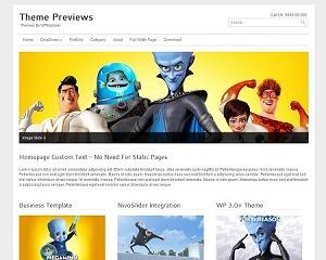 Ultra Business Wordpress Theme WordPress template for business