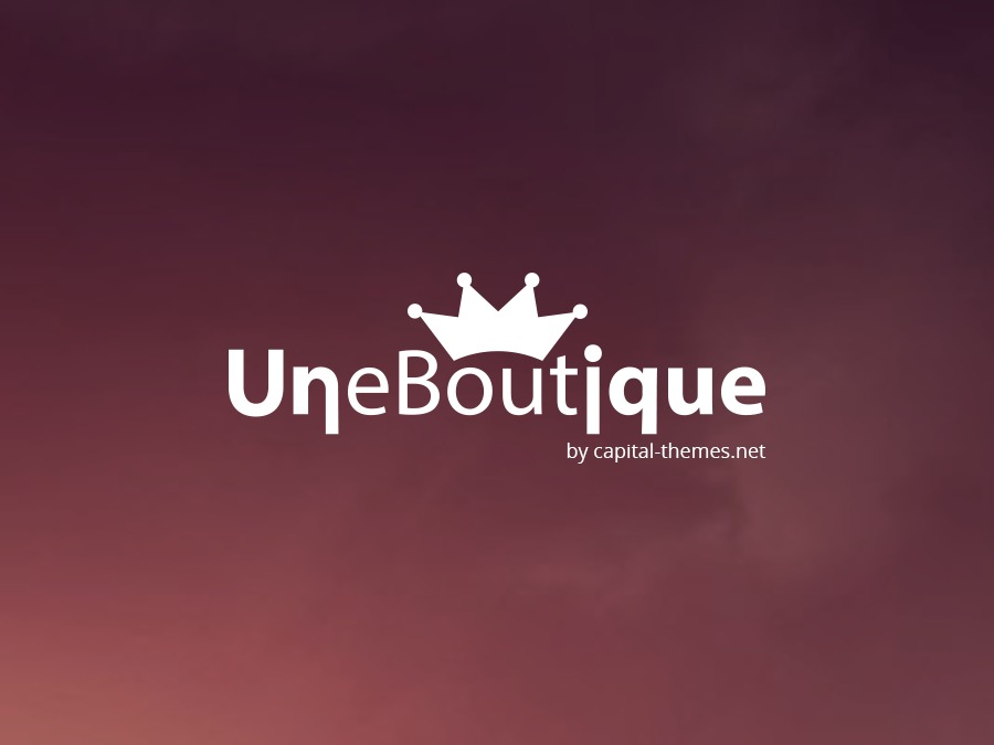 Une Boutique best WooCommerce theme