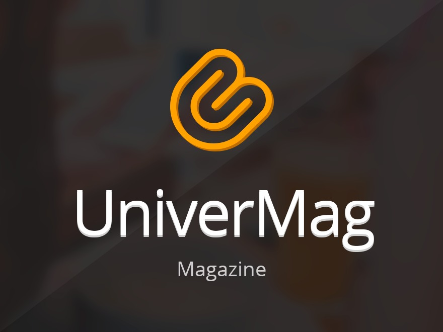 UniverMag best WordPress magazine theme
