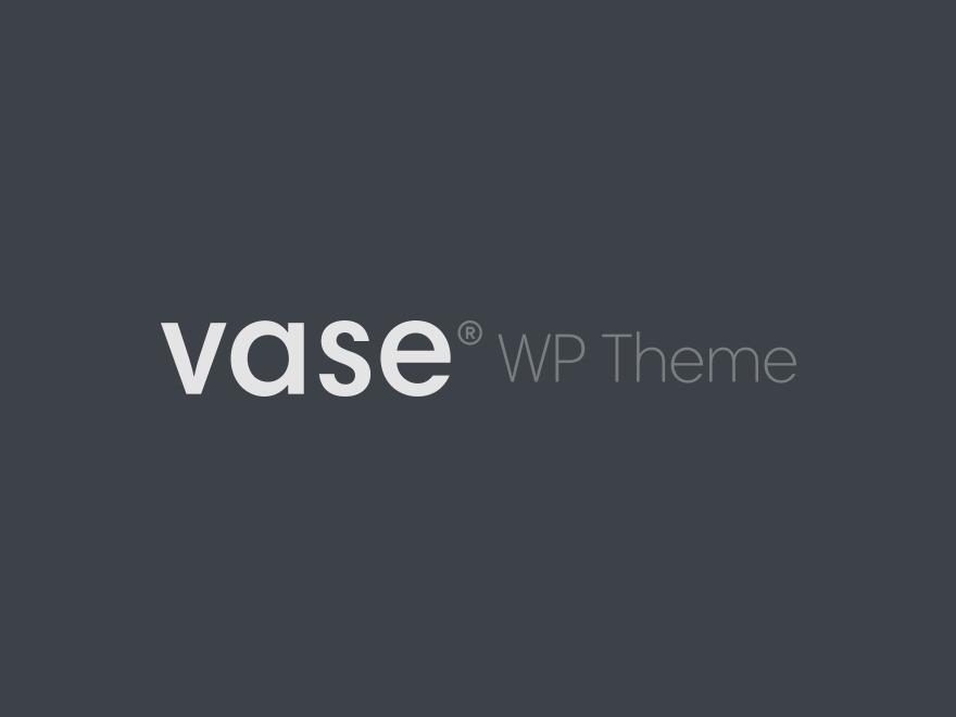 Vase WordPress theme