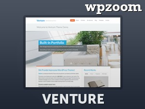 Venture company WordPress theme