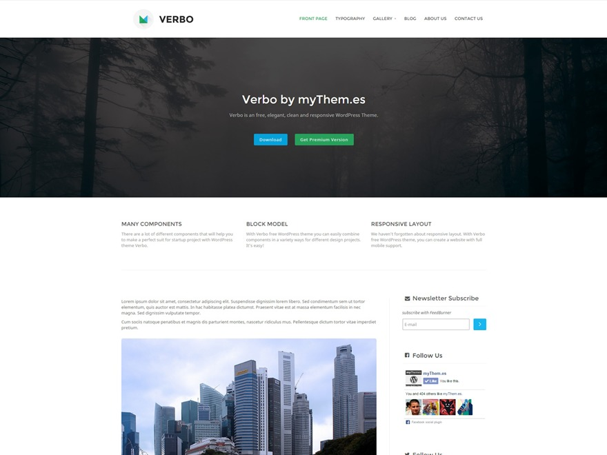 Verbo best WordPress magazine theme