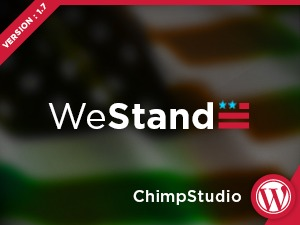 WeStand WordPress photo theme