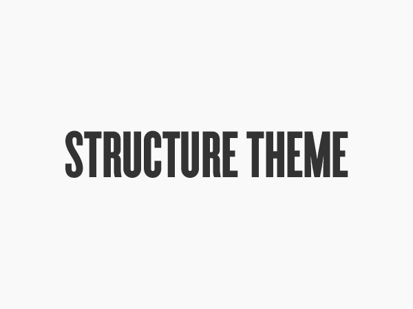 WordPress template Organic Structure