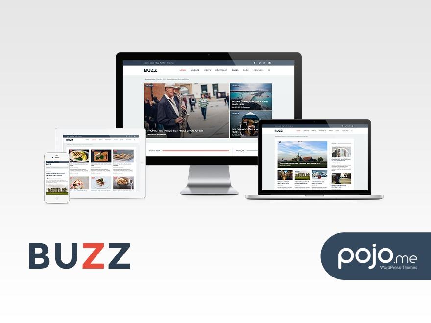 WordPress theme Buzz