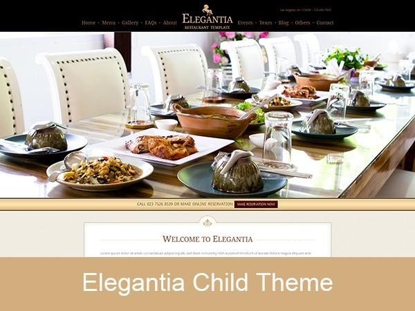 WordPress theme Elegantia Child Theme