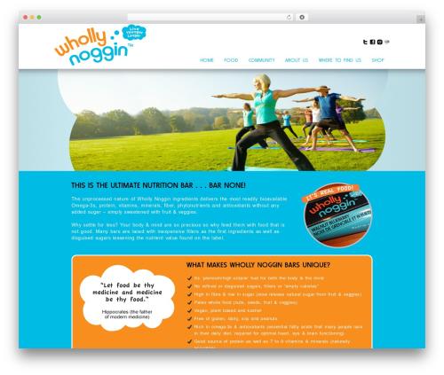 WordPress theme Method - whollynoggin.com