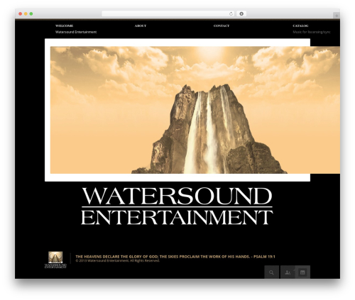WordPress theme Point Multipurpose Retina WP Theme - watersoundentertainment.com