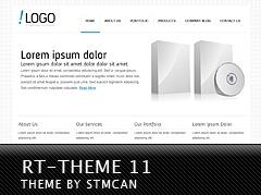 WordPress theme RT-Theme 11