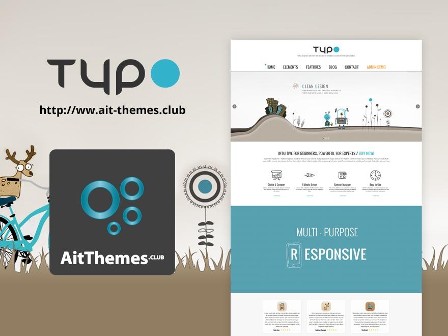 WordPress theme Typo