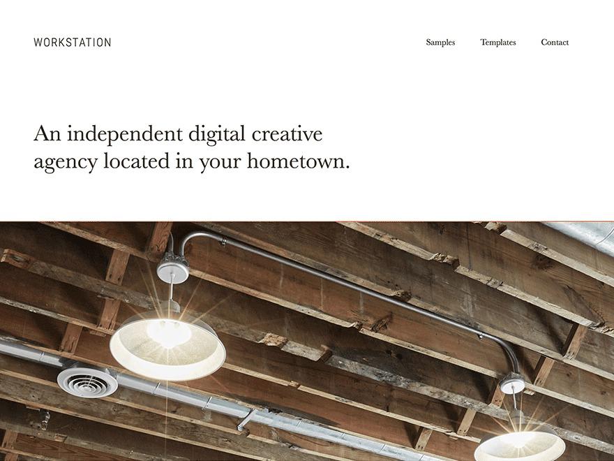 WordPress theme Workstation Pro Theme