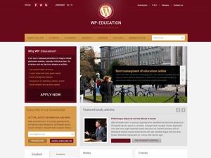 WordPress theme WP-Education