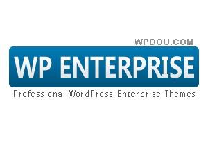 WordPress theme WPEnterprise-Blue