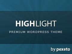 WordPress theme Z57 Custom V1 - HighLight
