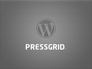 WordPress website template PressGrid