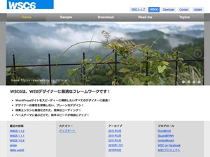 WordPress website template WSC6