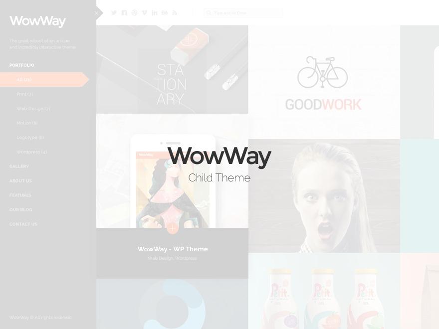 Wowway Child WordPress theme