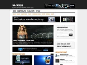 WP-Critique best WordPress theme