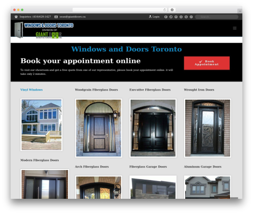 WP template Jupiter - windowsanddoorstoronto.ca