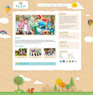 WP template Pulp WordPress