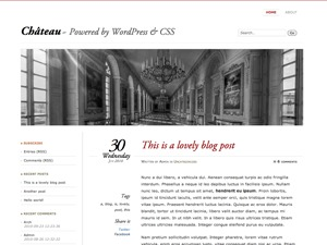 WP theme Chateau