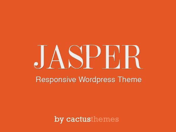 WP theme jasper