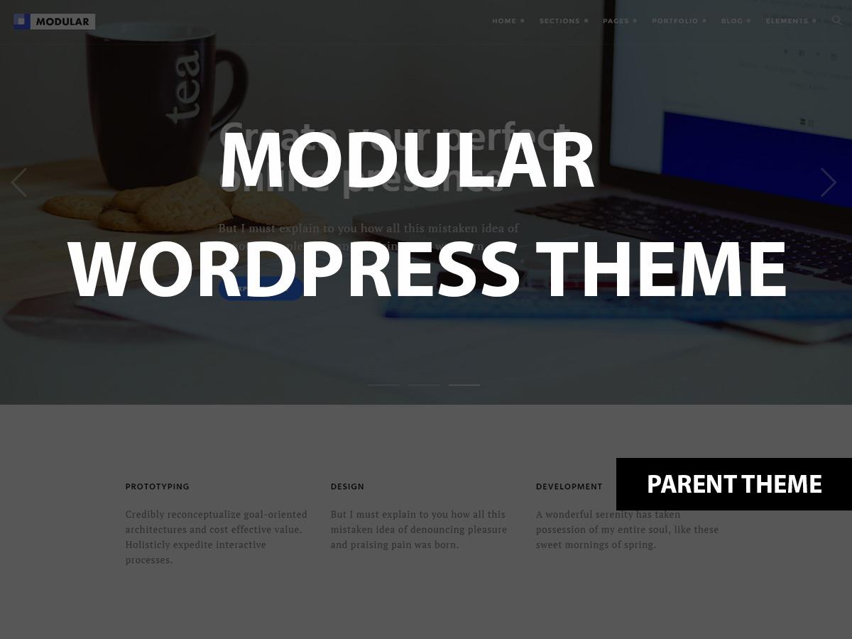WP theme Modular