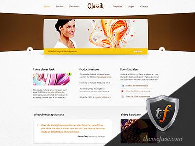 WP theme Qlassik