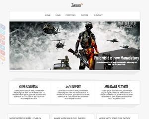 Zenon PRO business WordPress theme