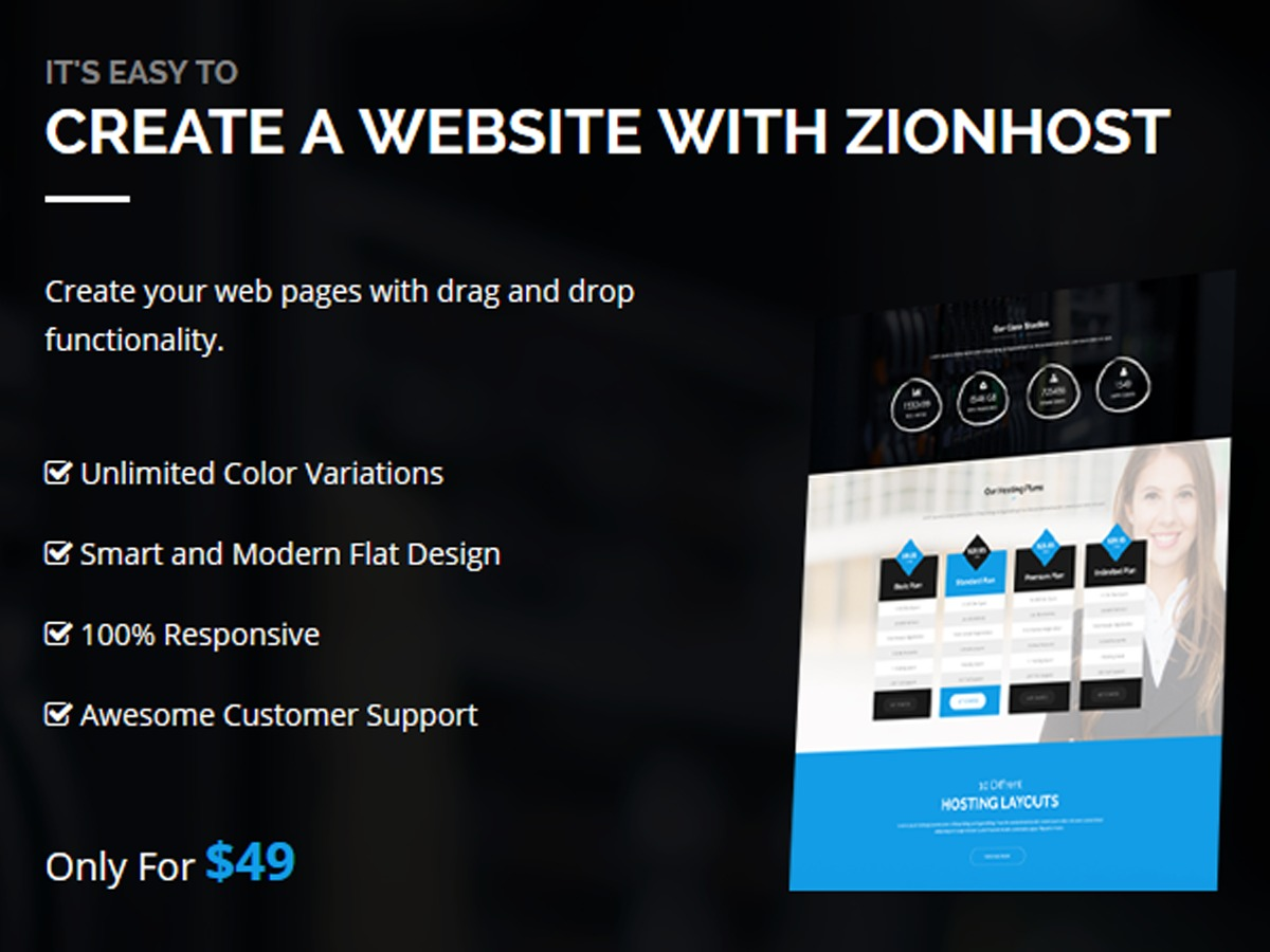 Zionhost theme WordPress