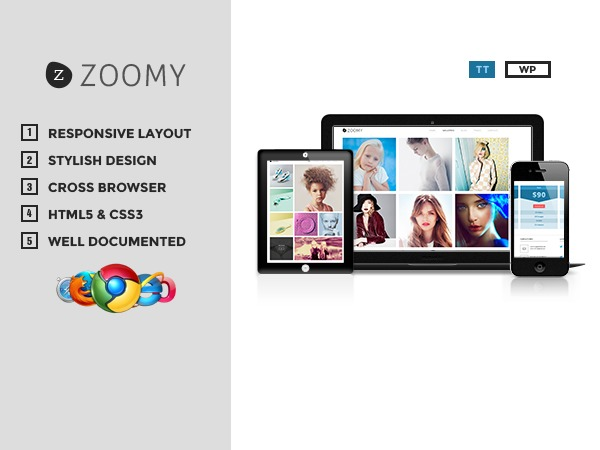 Zoomy theme WordPress