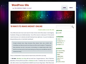 Asusena best WordPress template