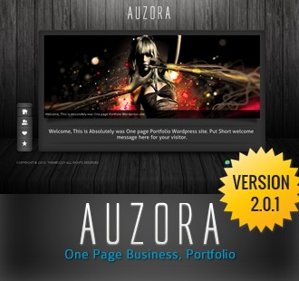 AUZORA company WordPress theme
