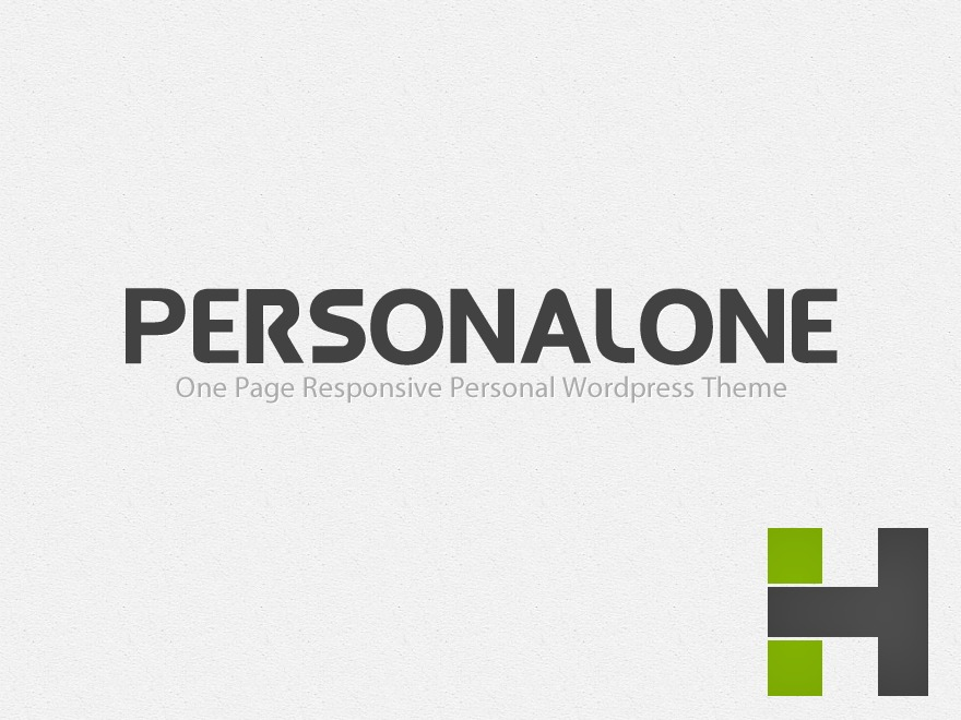 Best WordPress template PersonalOne