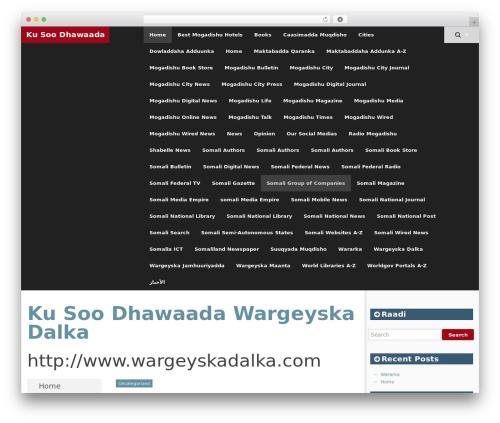 Best WordPress template SmartAdapt - wargeyskadalka.com