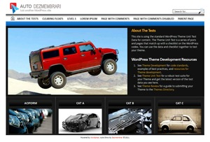 Best WordPress theme Auto Dezmembrari