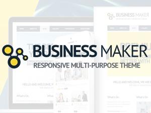 Business Maker business WordPress theme