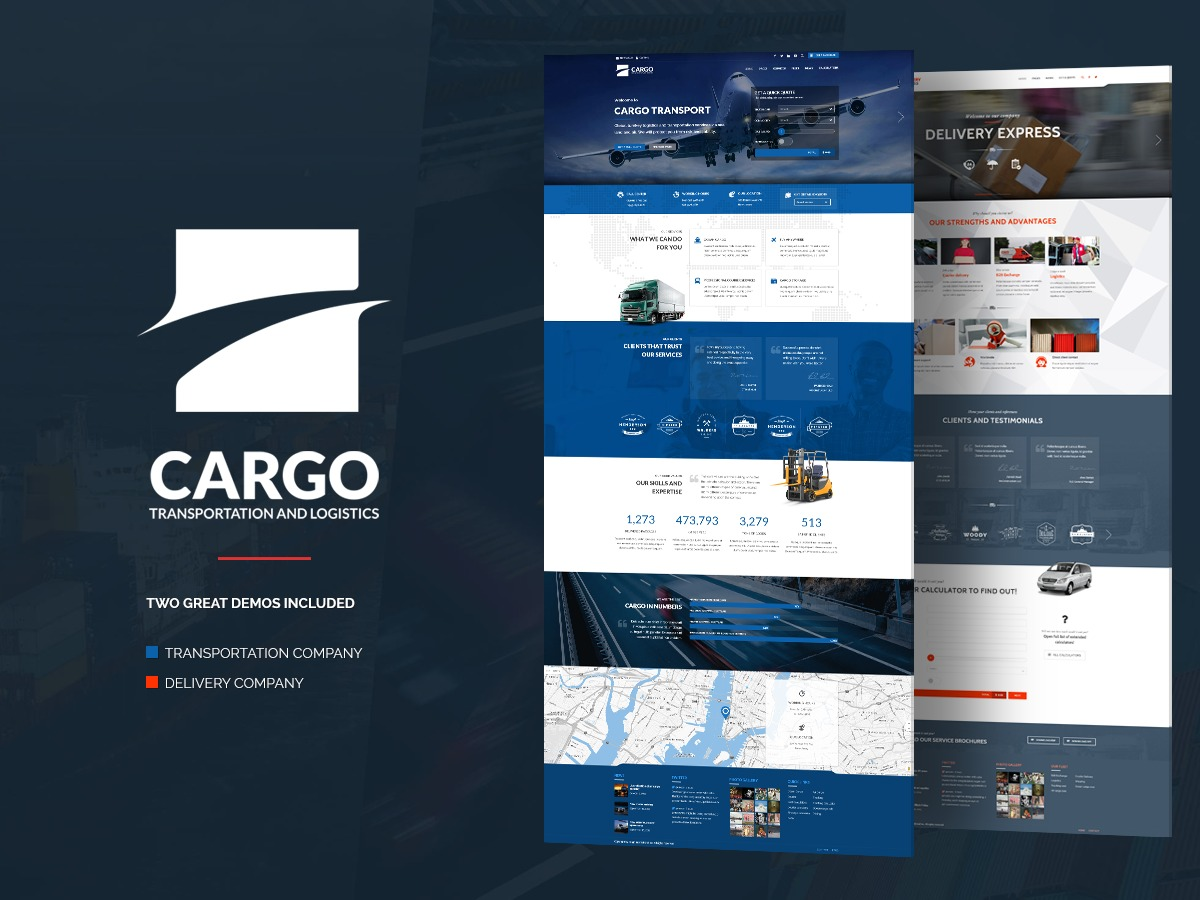 Cargo WP template