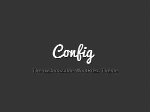 Config WordPress theme
