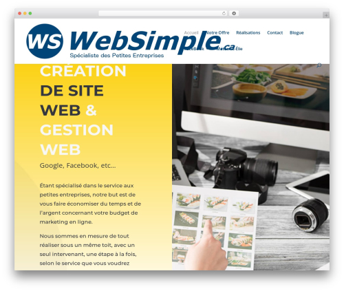 Free WordPress Srizon Facebook Album plugin - websimple.ca