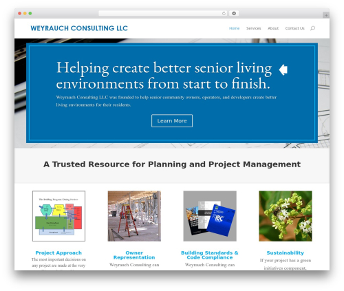 Divi WP template - weyrauchconsulting.com