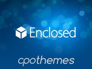 Enclosed WordPress portfolio theme