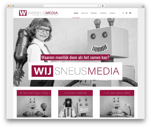 Enfold best WordPress video theme - wijsneusmedia.nl