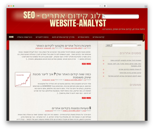 Frantic WordPress page template - website-analyst.co.il