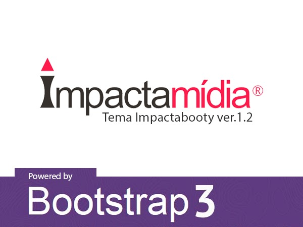 Impactabooty - Tema Impactamídia Bootstrap WordPress website template