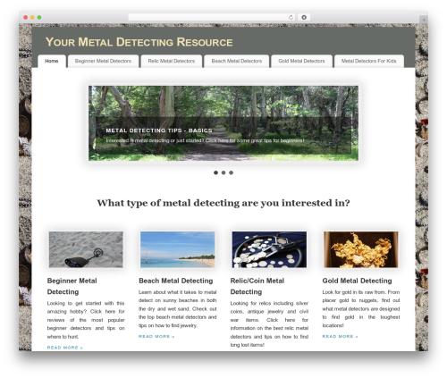 Free WordPress TablePress plugin - whatmetaldetector.com