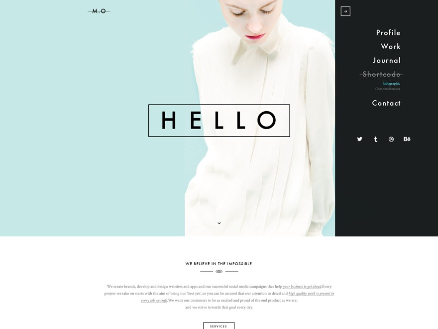 Mo WordPress theme
